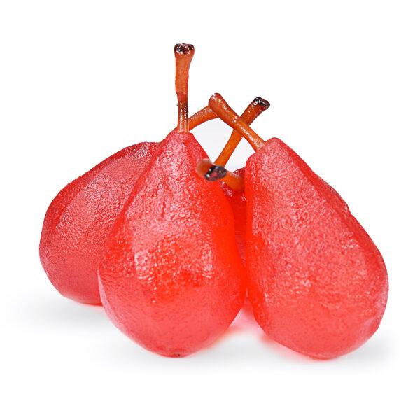 Pera-Intera-Rossa-frutta-candita-nappi