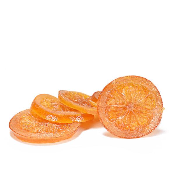 Fette di Arancia intere a Rondelle Nappi Frutta Candita