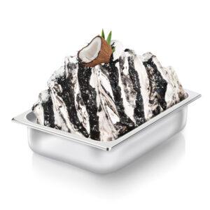 Black Jamaican Coconut Variegato Nappi Gelateria Gelato Pasticceria Pastry Yogurt