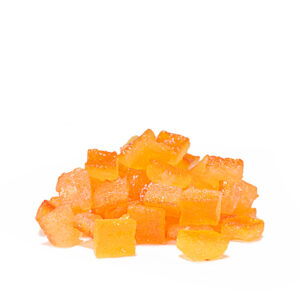 Candied Orange Big Cubes sizes 10x10 Premium Line Nappi