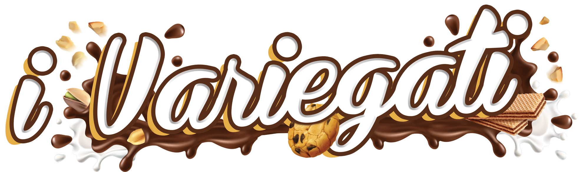 Variegati Gelato Yogurt Pasticceria - Pastry Ice Cream Variegate Nappi