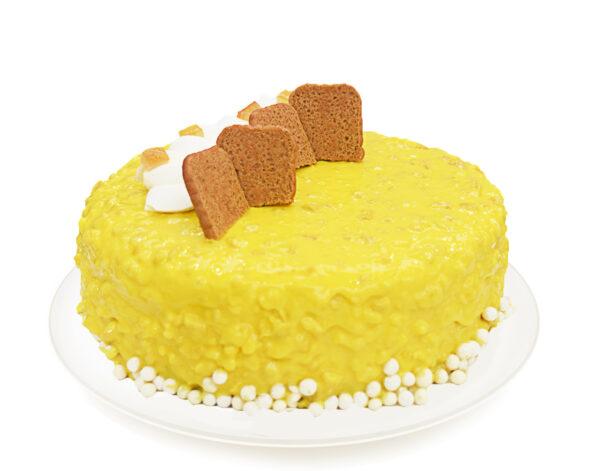 Nappi lemon Pie Variegato Limone Gelato Ice Cream Pastry