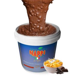 Variegato Cereali Nappi Gelato Soft Yogurt