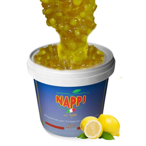 Variegato Crema Limone Lemon Cream Variegate Pasticceria Nappi