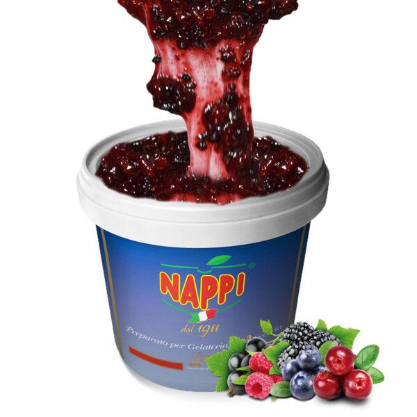 Variegato Frutti di bosco Nappi Wildberries Variegate Gelato, Pastry Cake Pasticceria Yogurt