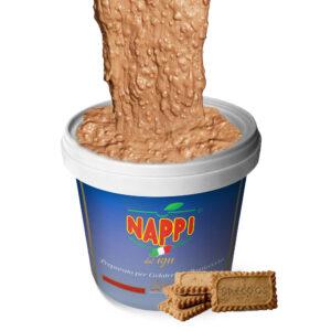 Variegato Speculoos Crunch Nappi Gelato Gelateria Ice Cream Pastry Pasticceria Cannella Nappi