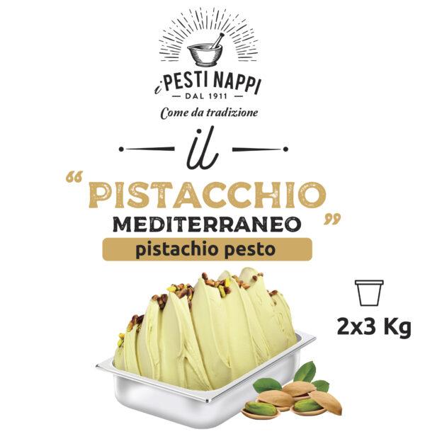 Pesto Pistacchio Mediterraneo Nappi